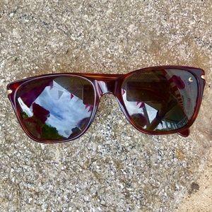 Giorgio Armani Tortoiseshell Horn-Rim Sunglasses